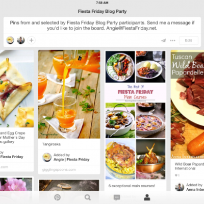 Fiesta Friday Blog Party Group Board on Pinterest