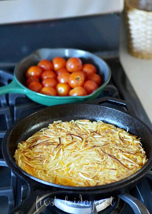 pumpkin potato rosti | fiestafriday.net