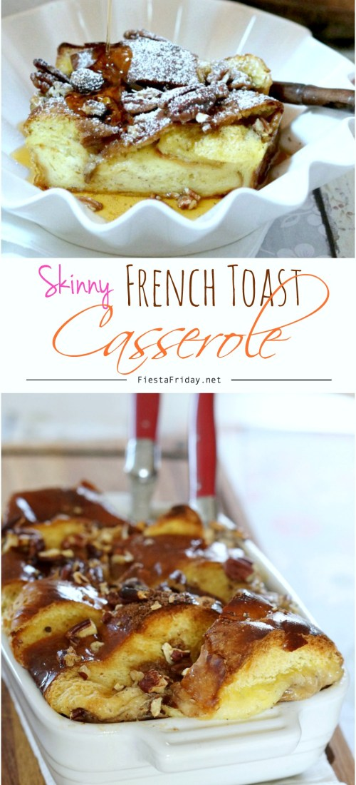 skinny french toast casserole pinterest