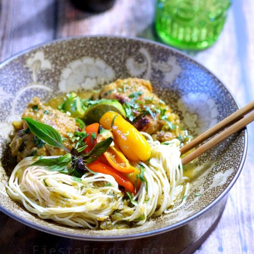 chicken noodle curry