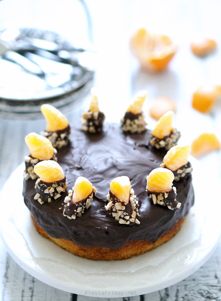 chocolate clementine cake | fiestafriday.net