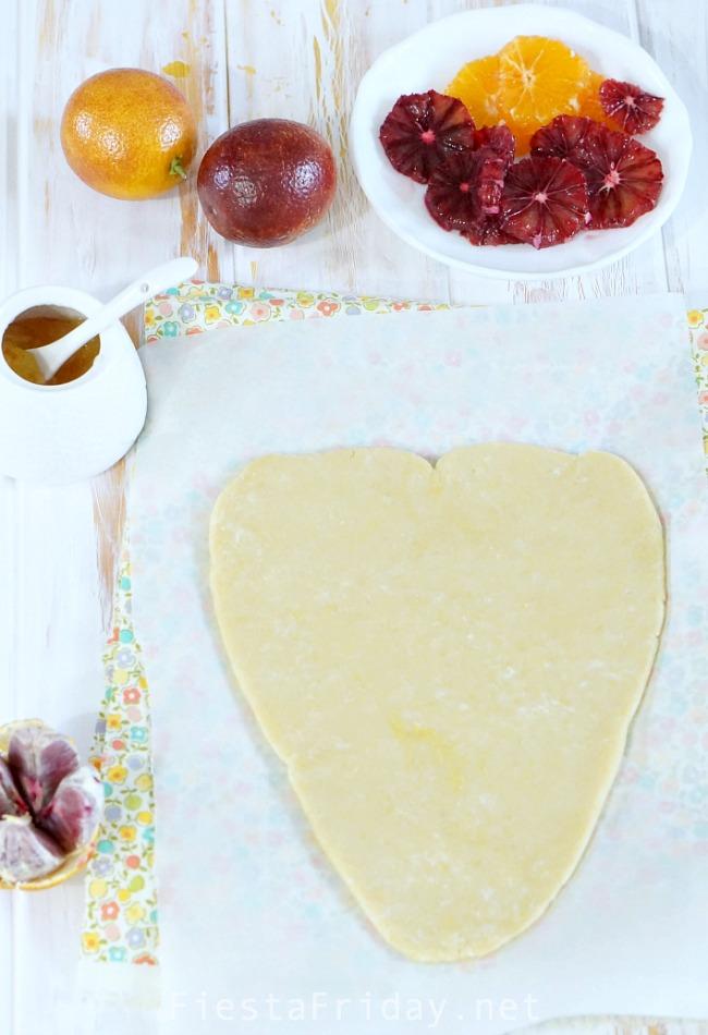 heart shaped tart   fiestafriday.net