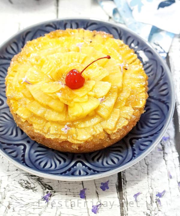 upside down cake pineapple