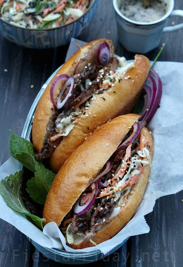 Koagie Sandwich | FiestaFriday.net