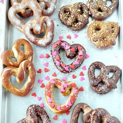 Valentine's Day Soft Pretzels