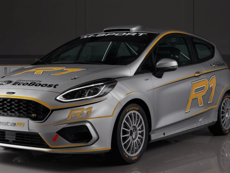 Ford Fiesta R1T Rally Car