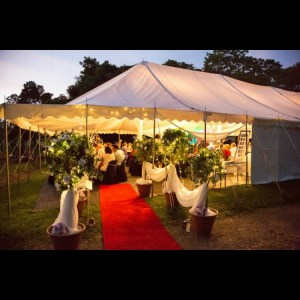Large White Marquee
