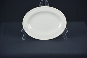 Entree Oval Plate