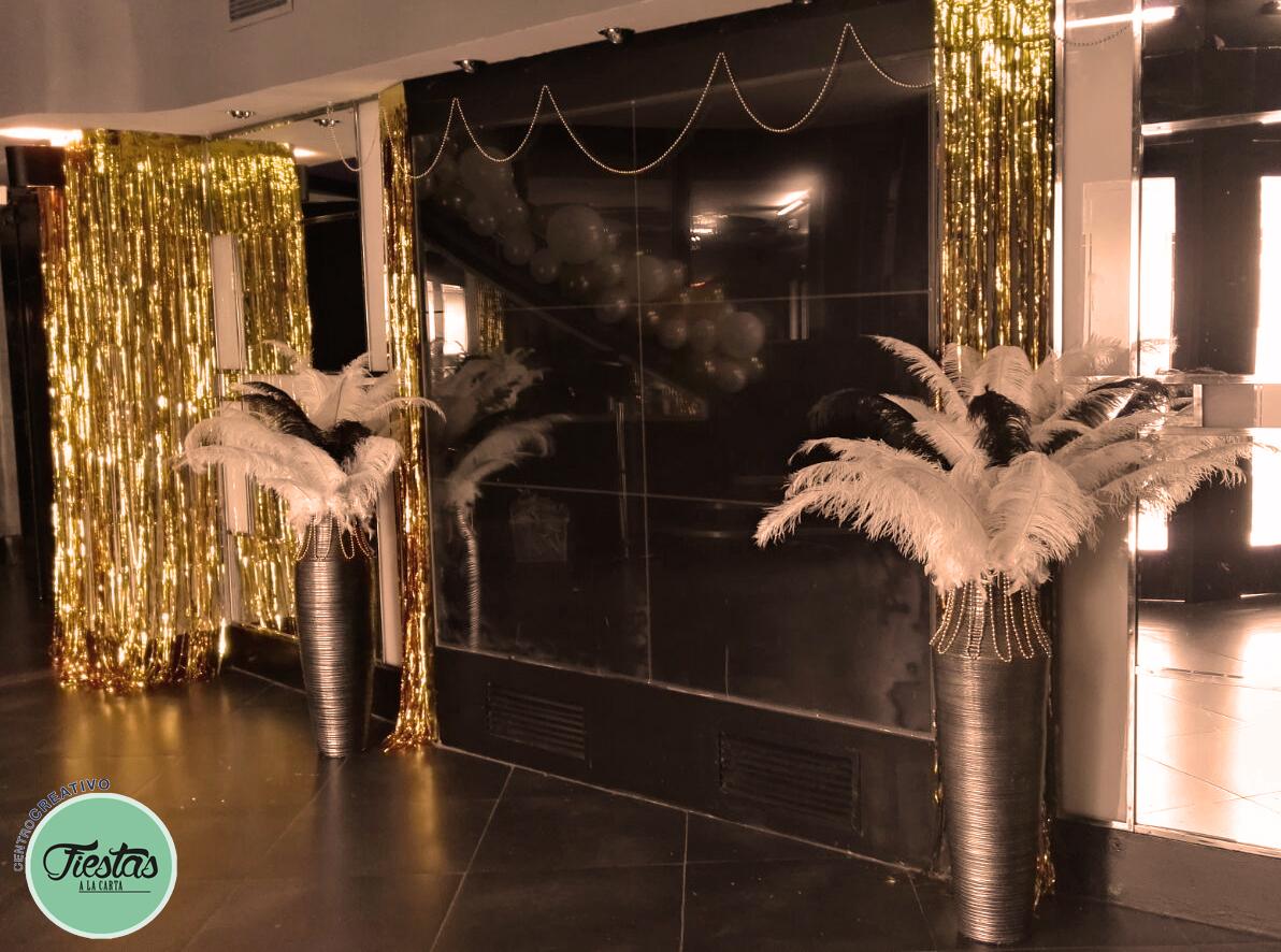 Decoraciones de discotecas y centros polivalentes for Decoracion anos 20