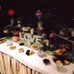 Mesas dulces para bodas o comuniones