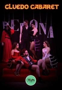 Cena de misterio Cluedo Cabaret VeronA
