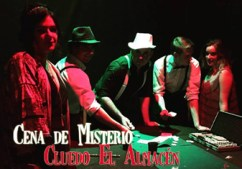 Cena de Misterio, Cena con Asesinato - Cluedo El Almacén