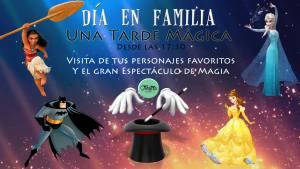 Banner día en Familia - Una tarde mágica