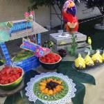 Mesa frutas Fiesta ibicenca