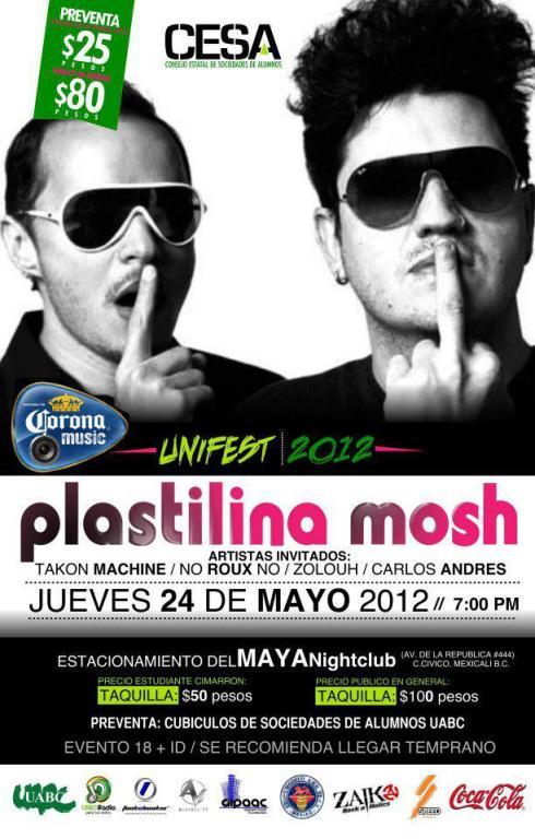 Plastilina Mosh en Mexicali