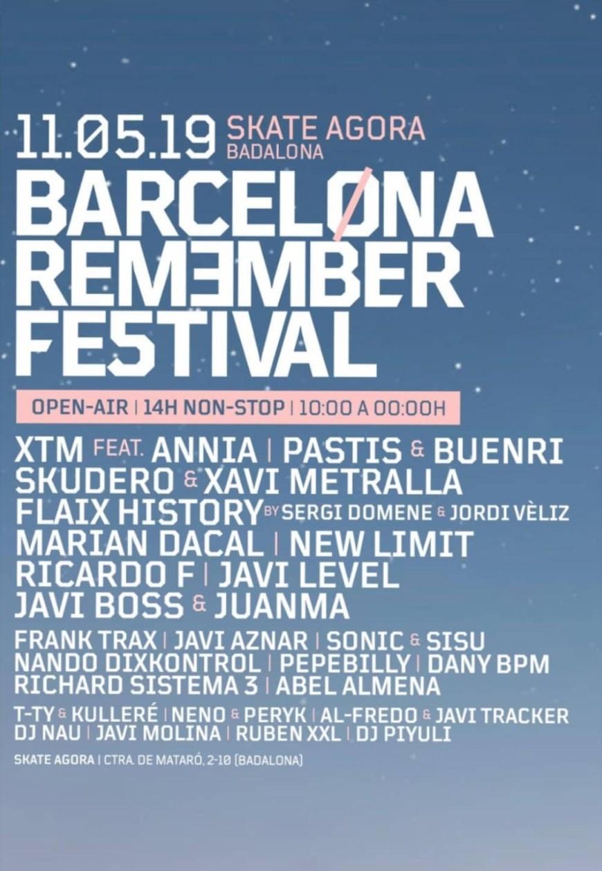 Barcelona Remember Festival