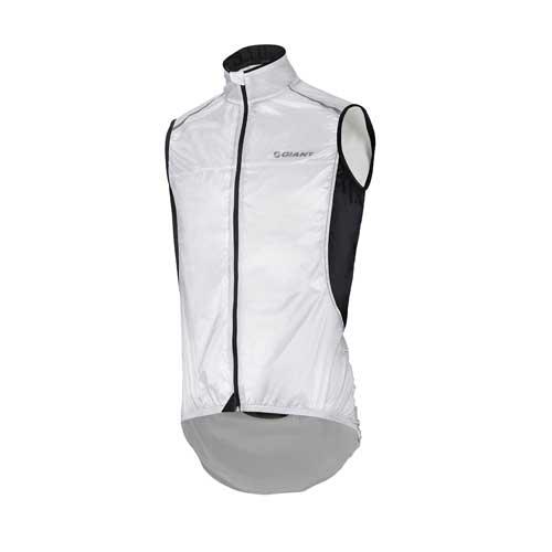Giant Superlight wind vest wit/zwart