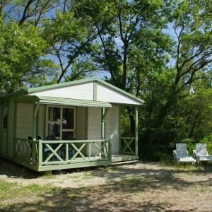 Fietsvakantie Provence: 8 of 15 dagen op campings met overnachtingen in Mobile Homes.
