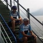 6juli2011 Op de boot naar Bellaggio