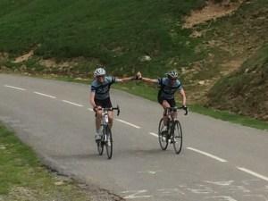 Juni 4, 2015 Fred en Jaap op de top van de Aubisque (24)