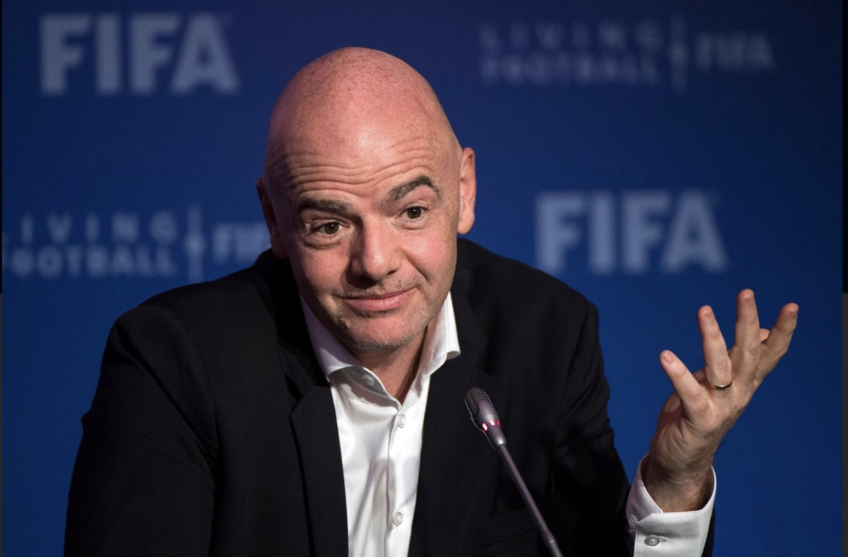 WE ALL KNEW THAT ROT EXISTS IN SWITZERLAND, BUT GIANNI INFANTINO TAKES THE  CAKE - Fifa Colonialism