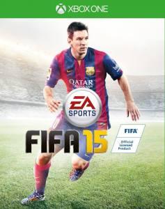 FIFA 15 kapak fotoğrafı XBOXONE