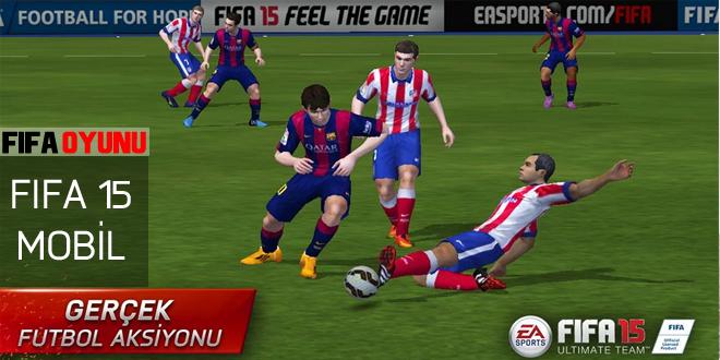 fifa 15 mobil oyunu