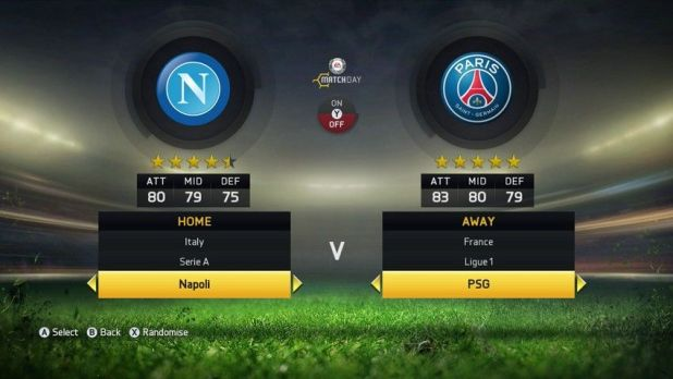 NAPOLI & PARIS SAINT-GERMAIN