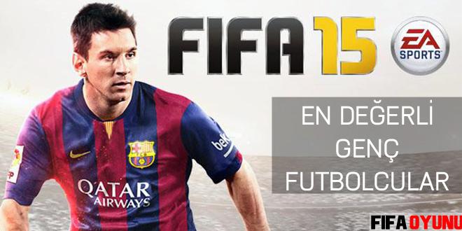 FIFA 15 en değerli genç futbolcular