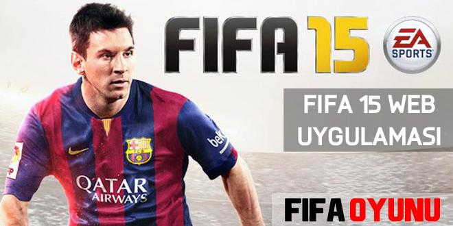 FIFA15 internet uygulaması