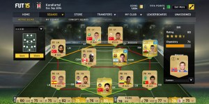 FIFA15 web application