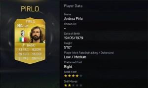 FIFA 15 - Andrea Pirlo - Juventus