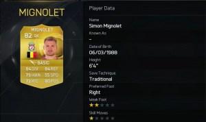 FIFA 15 Simon Mignolet - Liverpool FC