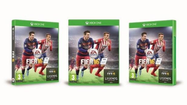FIFA 16 Fransa Kapak Futbolcusu Antoine Griezmann