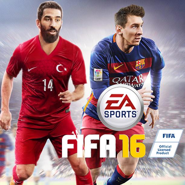 FIFA16 Türkiye Kapak Fotoğrafı Arda Turan