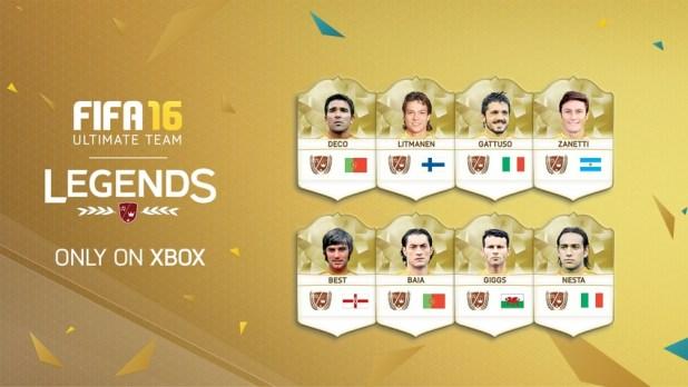 FIFA 16 Ultimate Team - Yeni Efsaneler