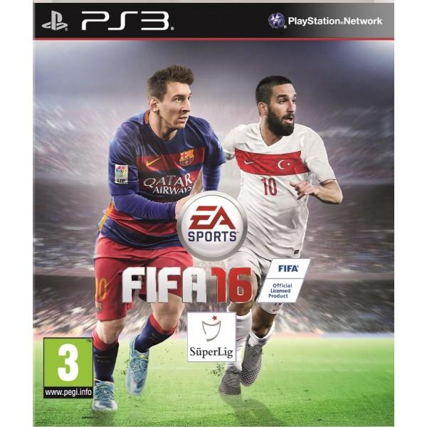 FIFA 2016 PS3 Türkiye Kapağı Arda Turan