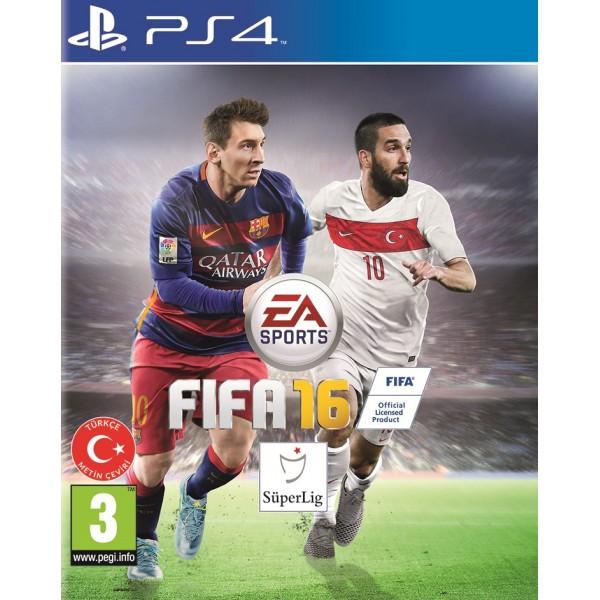 FIFA 2016 PS4 Türkiye Kapağı Arda Turan