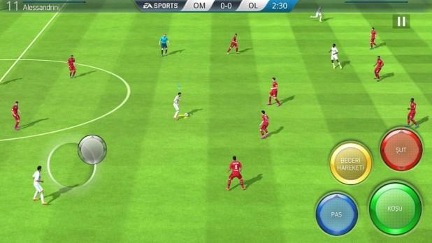fifa 15 mobil fut oyunu