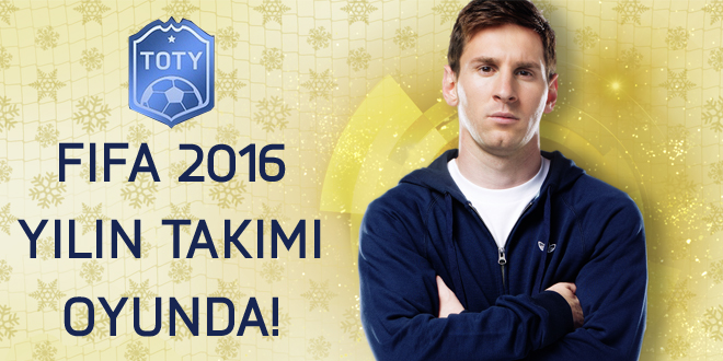 FIFA 16 TEAM OF THE YEAR