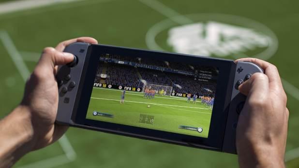 fifa18 oyunu nintendo switch