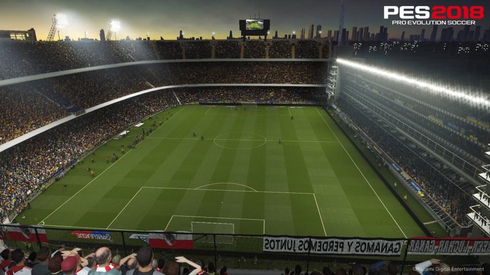 pes2018 estadio alberto stadyum
