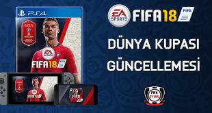 FIFA18-dünya kupası ücretsiz güncellemesi