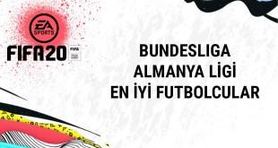 FIFA20-BUNDESLIGA Almanya Ligi En İyi Futbolcular