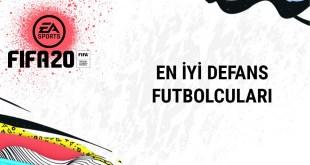 FIFA20-en iyi savunma futbolculari