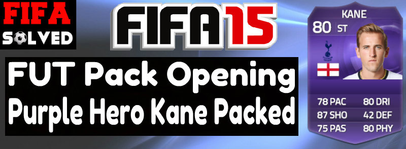 FIFA 15 Pack Opening Harry Kane Packed