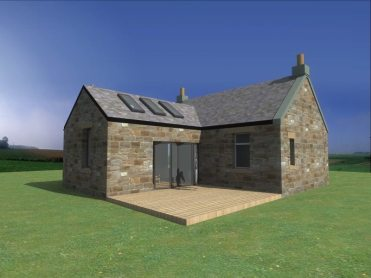 Traditional Cottage Stone Extension - Fife Architects