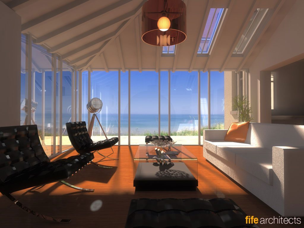 Sea View Interior Design Ideas - Earlsferry