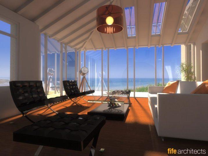 Sea View Interior Design Concepts - Earlsferry