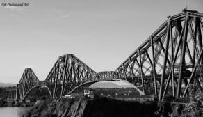 East view of Forth Rail Bridge